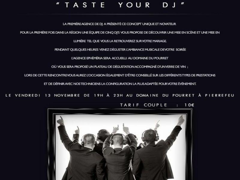 Taste your Dj : Un concept unique